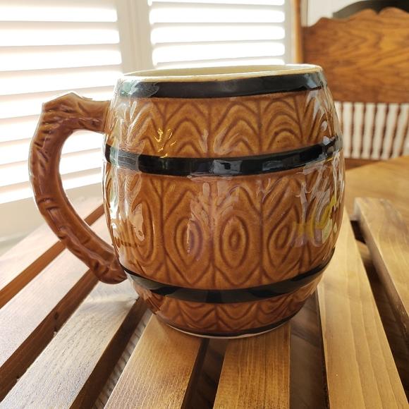 Vintage Barrell Mug Made in Japan N033